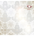 Elegant background with white repetitive elements vector image