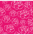 Contour Rose Seamless vector image