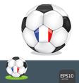 soccer euro france vector image