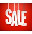 Sale paper vector image