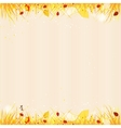 Autumn template background vector image