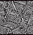 aztec seamless pattern vector image