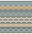 cross zigzag seamless pattern vector image