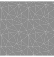 Geometric seamless pattern from triangles vector image