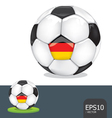 soccer euro germany vector image