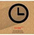Watch Flat modern web design on a flat geometric vector image