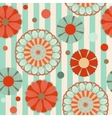 Spring pastel floral saemless pattern vector image