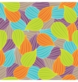 Bulbs Seamless colorful ornamental pattern vector image