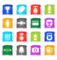 boxing simply icons vector image