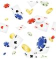 Casino Background Seamless vector image