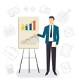 Business Coaching Project presentation vector image