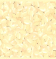 seamless background with peanuts for your design vector image