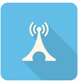 Transmitter Tower icon vector image vector image