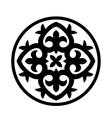 Circular ornament vector image vector image