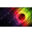 space abstract background vector image