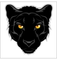 Black Panther - on white background vector image
