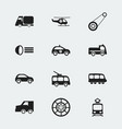 set of 12 editable shipment icons includes vector image