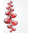 Background to the Valentines day vector image