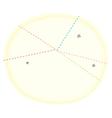 stars swirls doodle background vector image
