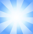 Beautiful Sun with Rays Television Vintage vector image
