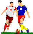 al 0919 soccer04 vector image vector image