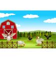 Farmland vector image