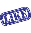 Like stamp vector image
