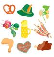 Oktoberfest objects clip art vector image