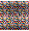 Geometric multicolored background vector image