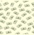seamless dollar seamless vector image