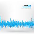 Abstract background Ligth blue equalizer bar and vector image