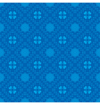 dark blue pattern with geometric elements vector image vector image