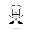 chef kitchen icon vector image