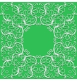 doodle pattern of spirals swirls and vector image vector image
