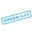 Green Day Rubber Stamp vector image