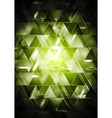 Abstract glossy hi-tech backdrop vector image vector image