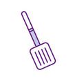 spatula cutlery isolated icon vector image vector image