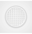 Light grey corporate tech background vector image vector image