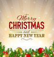 Lux Christmas Background vector image