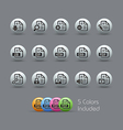 Document Icons 1 Pearly Series vector image vector image