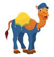 of cartoon camel vector image