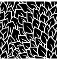 Black and white seamless pattern Graphic ornament vector image