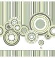 retro pattern vector image vector image