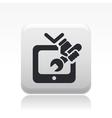 tv repair icon vector image vector image