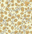 gooseberry seamless texture pattern vector image