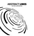 absract lines vector image