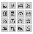 power and energy icons vector image