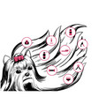 beauty dog salon concept vector image vector image