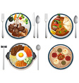 International food vector image