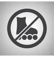 Do not ride icon vector image vector image